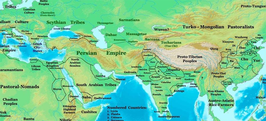achaemenid empire The achaemenid empire (/əˈkiːmənɪd/ c 550–330 bc), also called the first persian empire, was an empire based in by movsen.