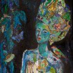 "Metamorphosis  |  30"" x 40 ""  |  Mixed Media on Canvas"