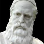 Omar Khayyam bust in Nishapur, Iran