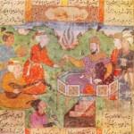Barbod Playing for King Khosrow II