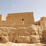 The Narin Qal'eh or Narin Castle is a mud brick fort or castle in the town of Meybod, Iran. It incorporate mud bricks of the Medes period and of the Achaemenid and Sassanid period. The ruins of the structure stand 40 m hight from its base. It was built 2000 years ago.