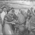 17 April 1996 - Phoolan Devi Election Campaigning Mirzapur - HT Photo by Girish Srivastava.