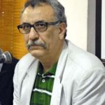 El poeta iraní Hassan Makaremi, en la UNEAC
